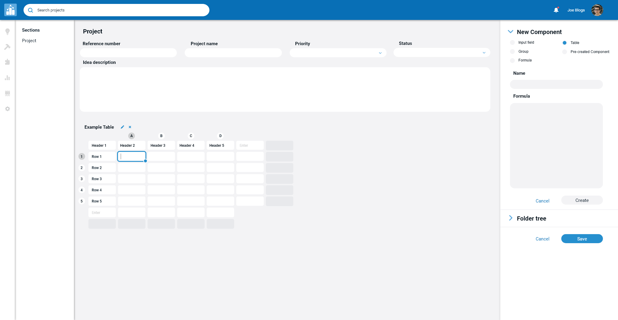 Intuitx app showing the kanban board with a chat log